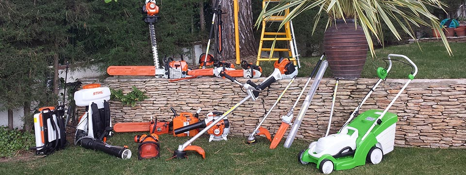 Jardiner a solar construcci n y mantenimiento de for Jardineria maquinaria